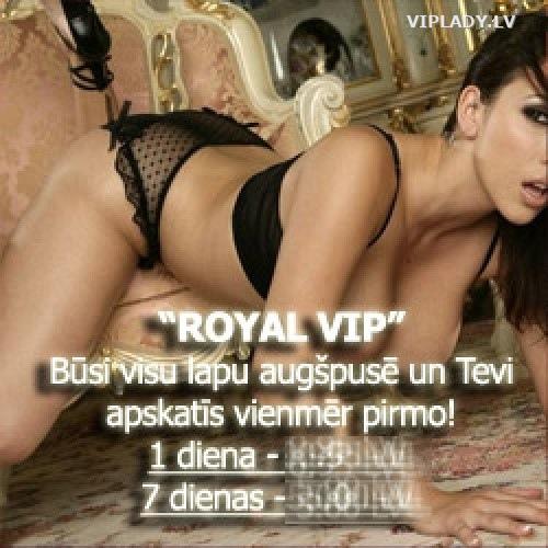 ROYAL VIP anketa